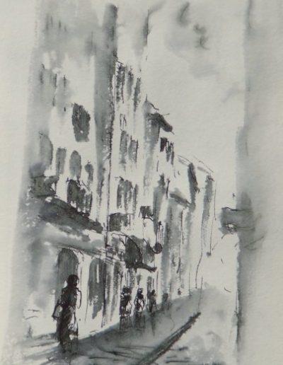 Rue Carnot à Mâcon