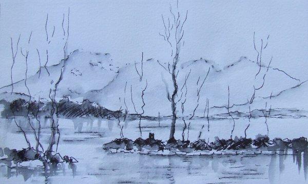 Le lac d'Aix les Bains